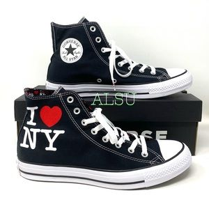 Converse Ctas High Top I❤️NY Canvas Men's Sneakers